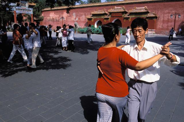Beihai Park, dance lesson