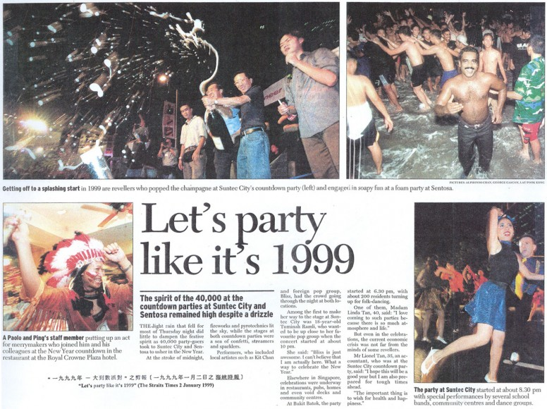 Let's Party Like It's 1999