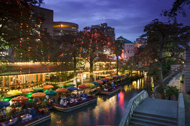 Riverwalk Area, San Antonio, Texas, USA